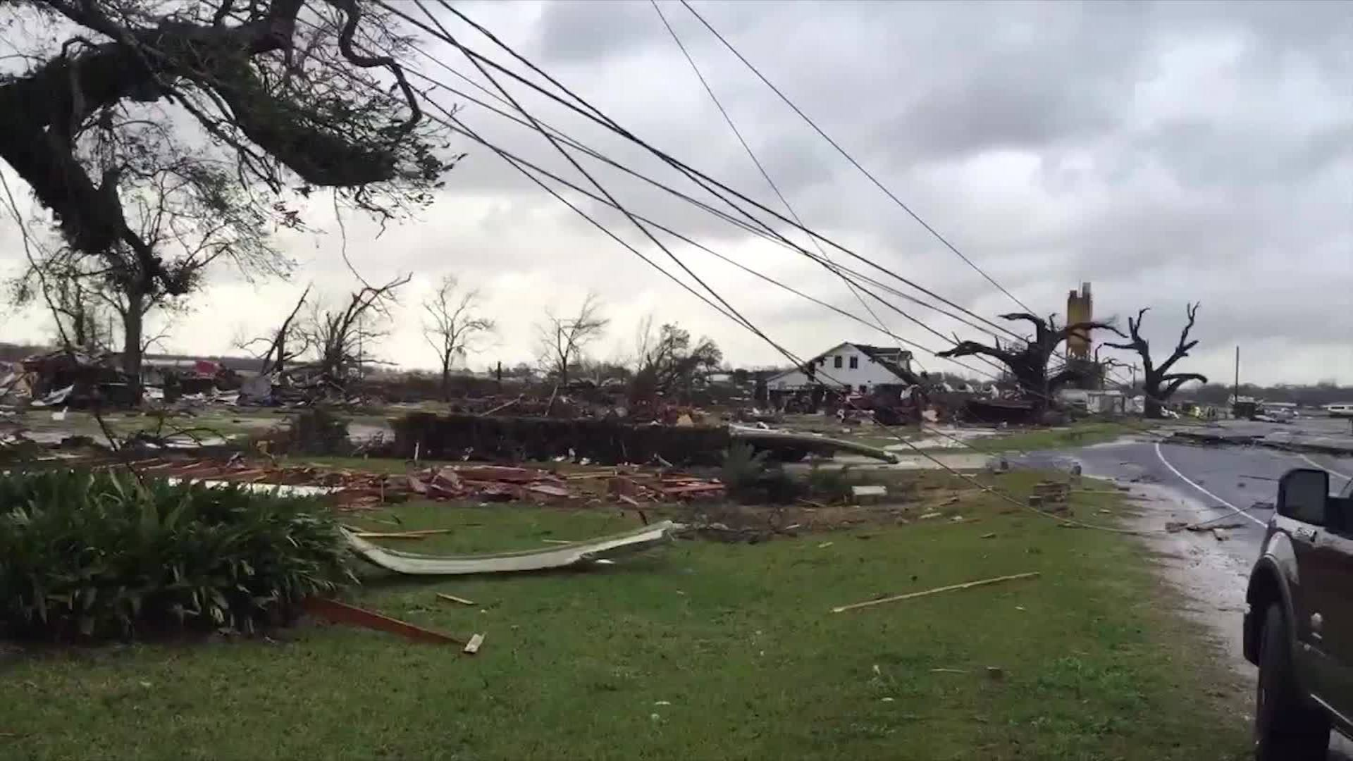 Louisiana Storm Damage